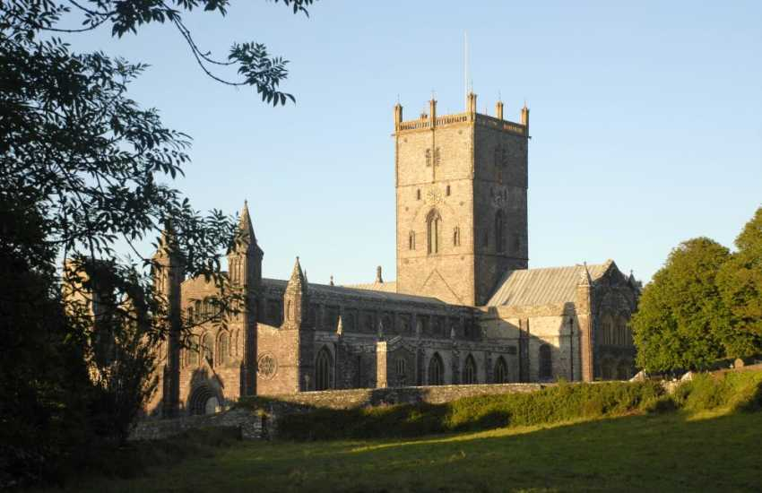 Magnificent St David's Cathedral is a 'must' to visit whilst on holiday in Pembrokeshire