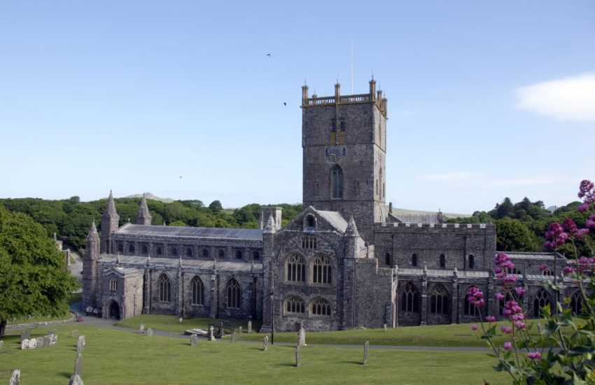 The magnificent 12th century St Davids Cathedral plays host to music festivals and concerts throughout the year