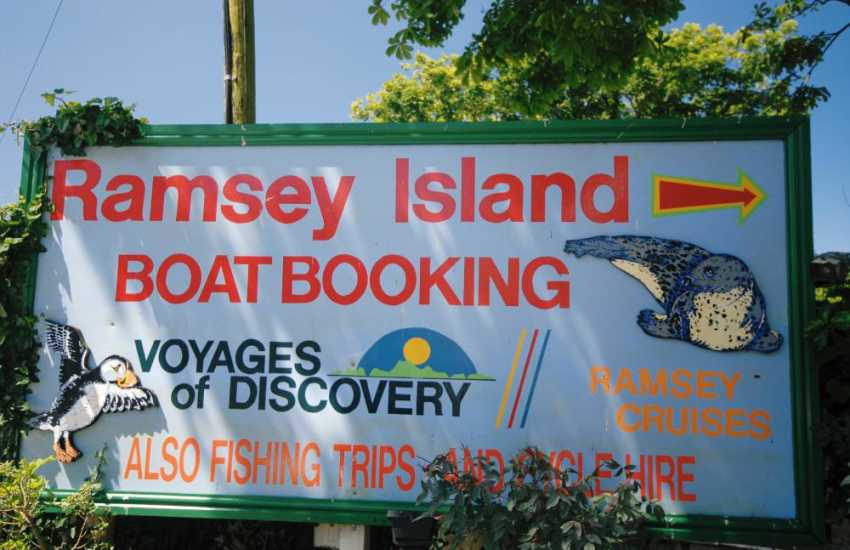 Lots of adventures available along the coast nearby and a visit to Ramsey Island is a must