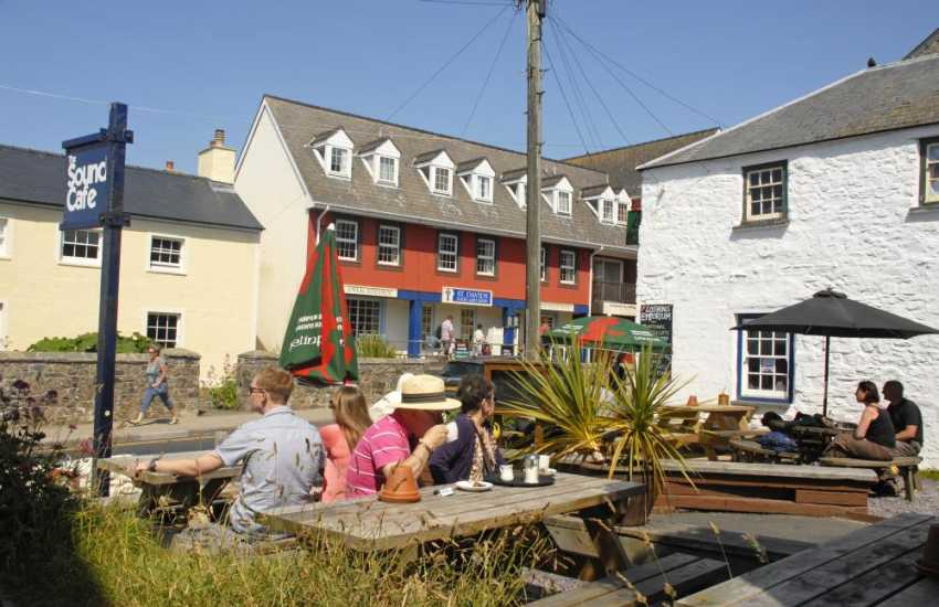St Davids offers a wide choice of galleries, boutiques, pubs, restaurants and coffee shops