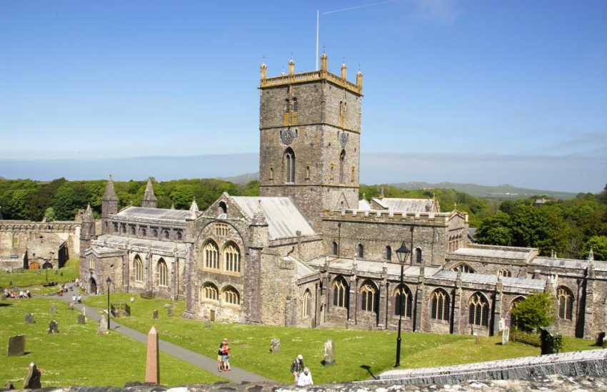 The magnificent 12th century St Davids Cathedral