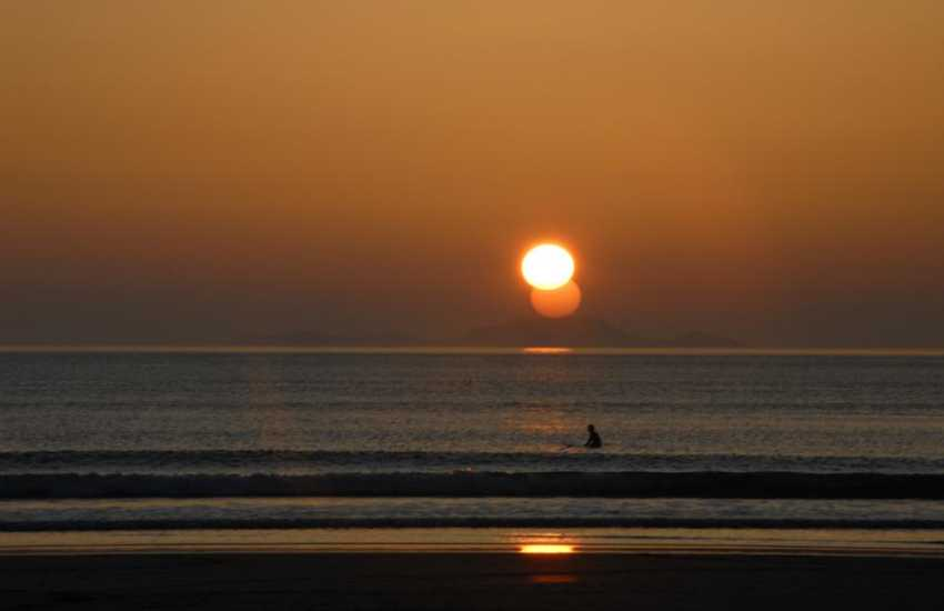 Whitesands Beach is a fabulous location for watching the sun go down at the end of the day - breathtaking!