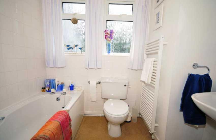 Bathroom in luxury holiday cottage-sleeps 6 Anglesey