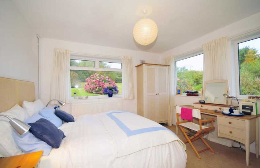 Double bedroom in bungalow sleeping 6. Near Amlwch