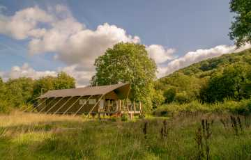 Teifi Safari Lodge in Ceredigion