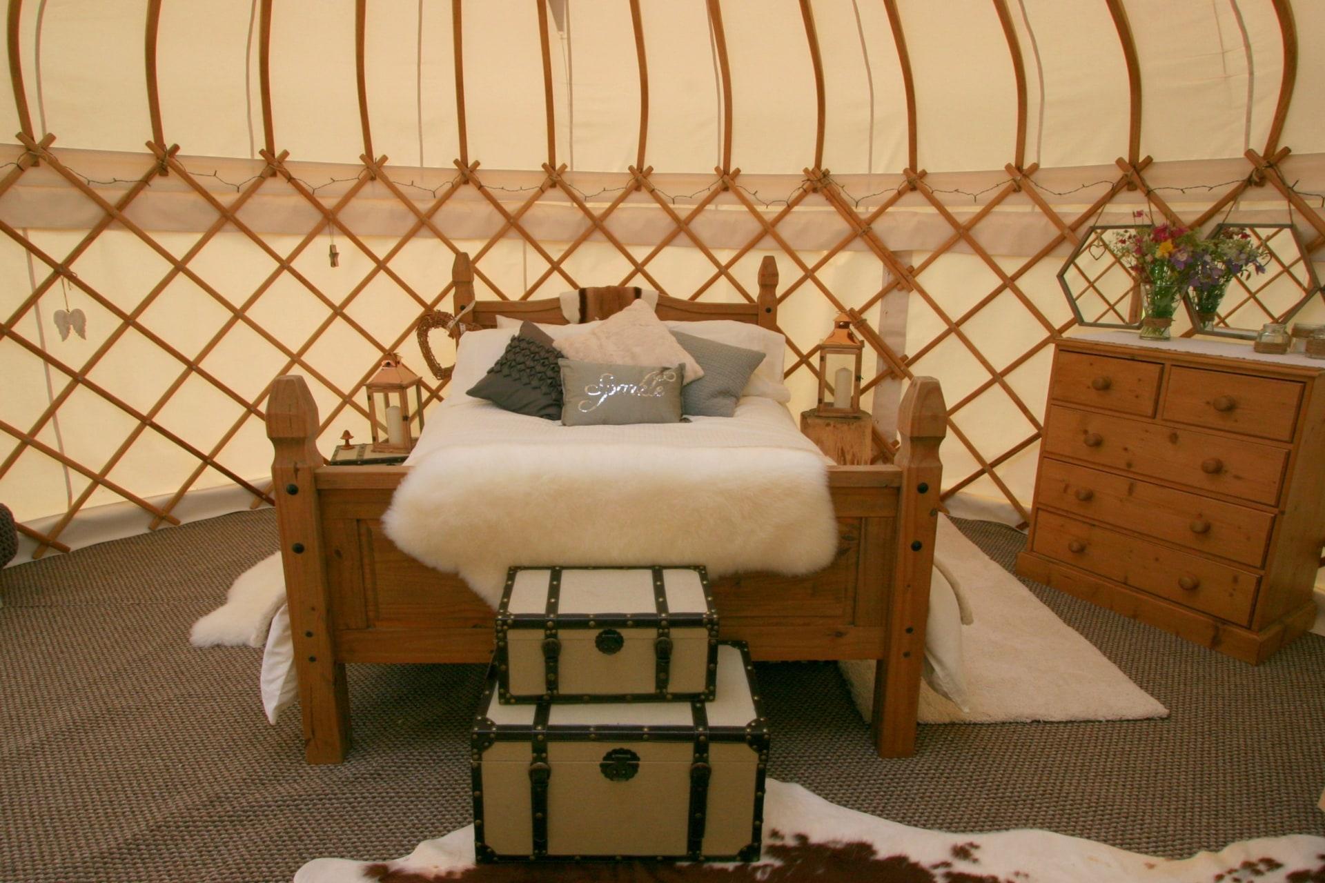 Jubilee Yurt | Glamping Yurts In Northants | Sleeps 2 | Quality Unearthed