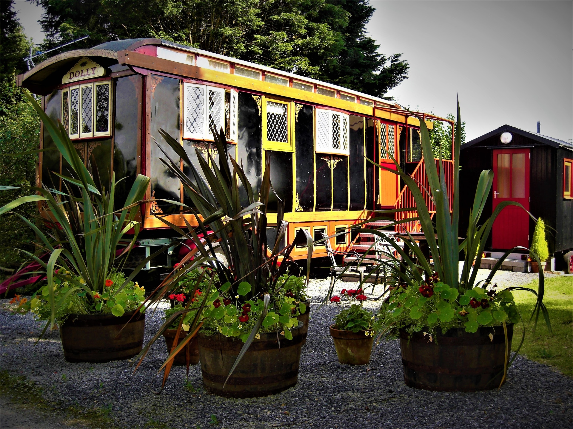 Dolly Glamping Shepherds Huts And Wagons in Ceredigion