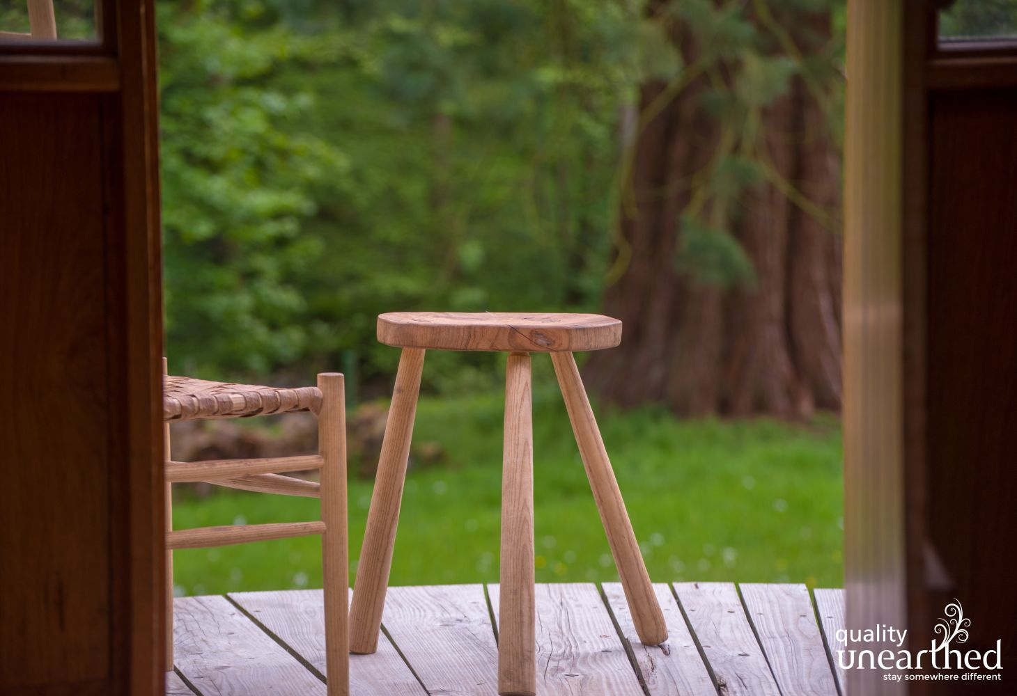 One of the amazing handmade stools your family gathering can learn to make
