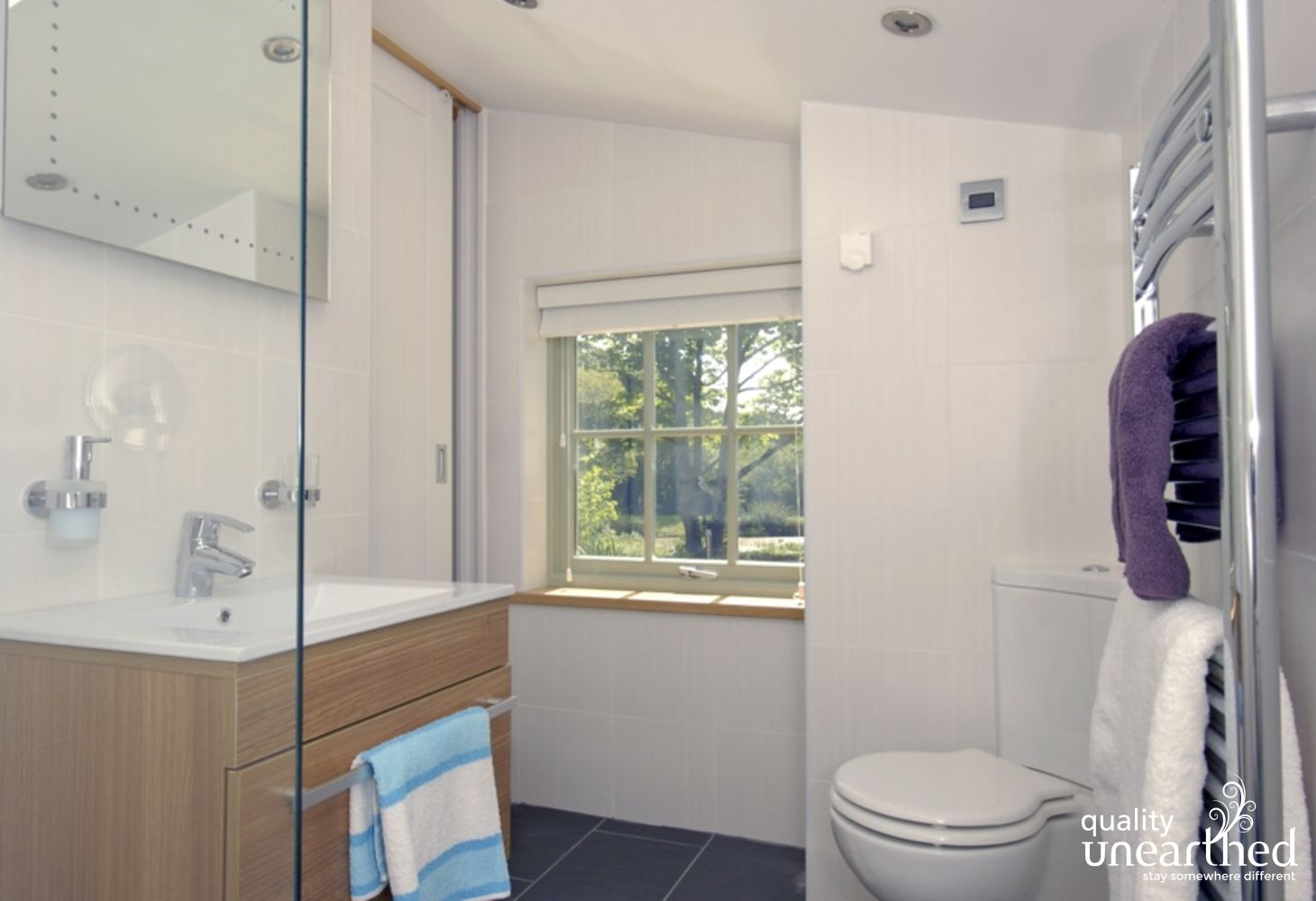 Solva holiday cottage - wet room