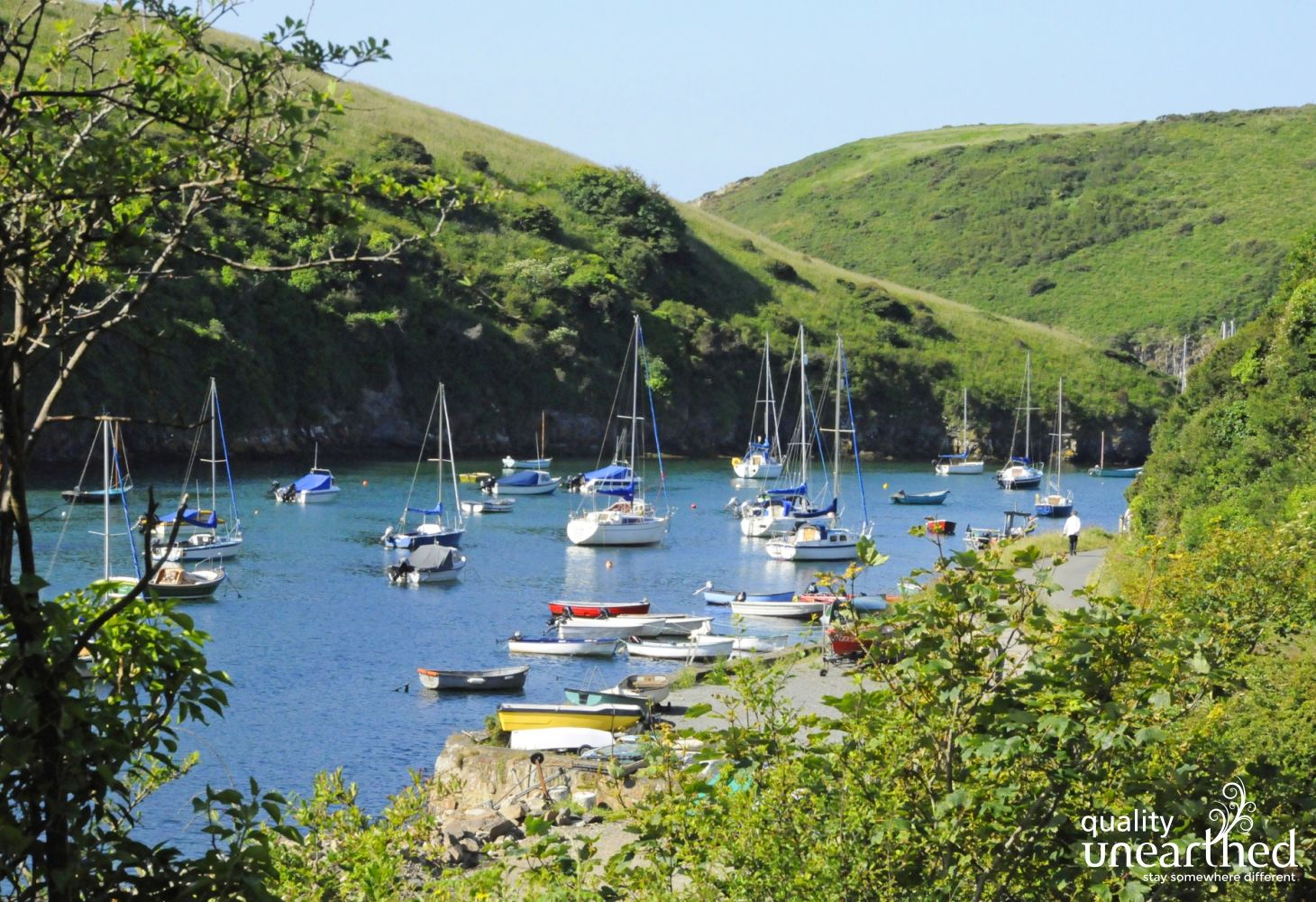 Solva - with it's pretty harbour