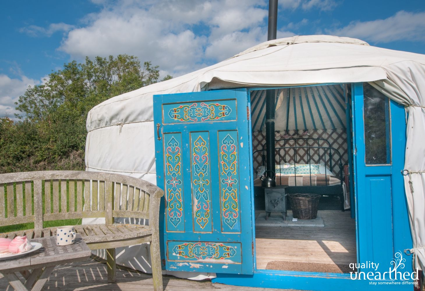 Moonslade Yurt in Taunton