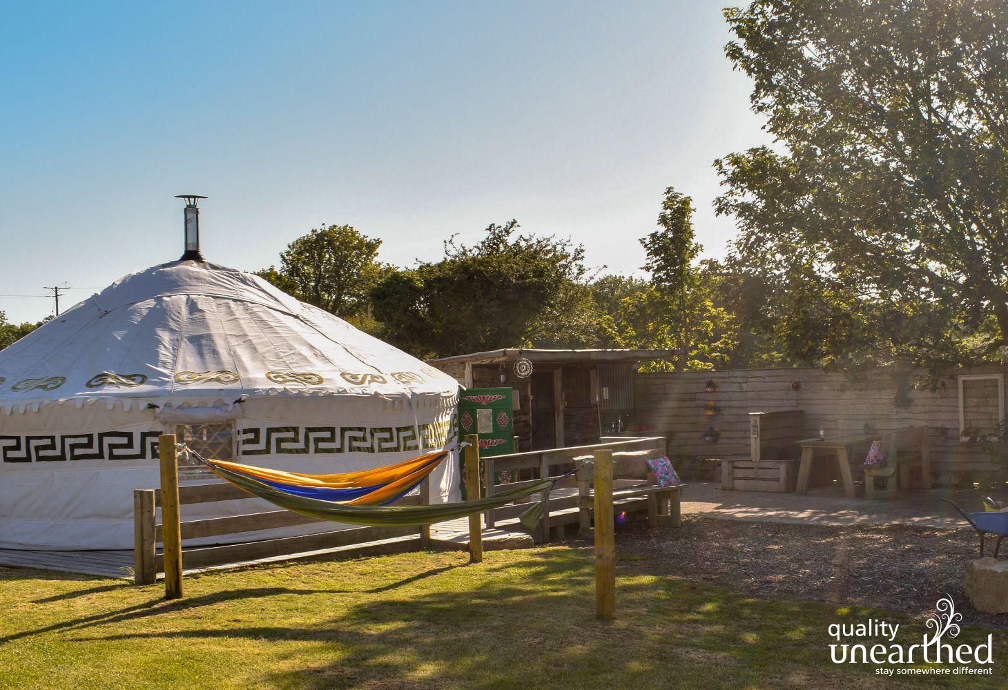 Yurt near Fishguard, Pembrokeshire