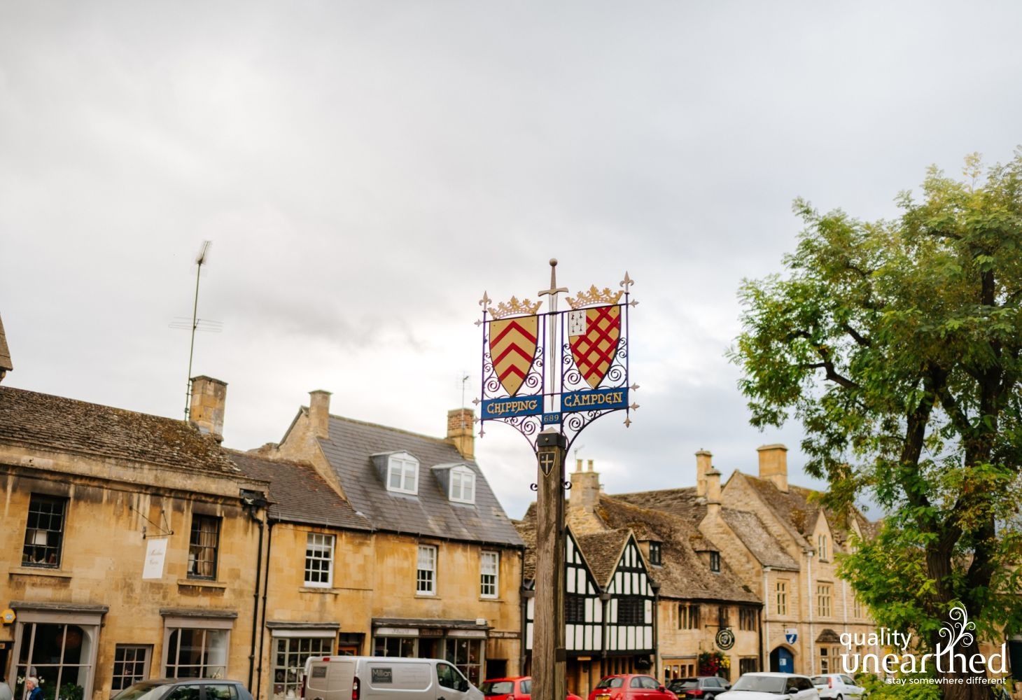 Chipping Camden is a perfect example of a yellow Cotswold stone town