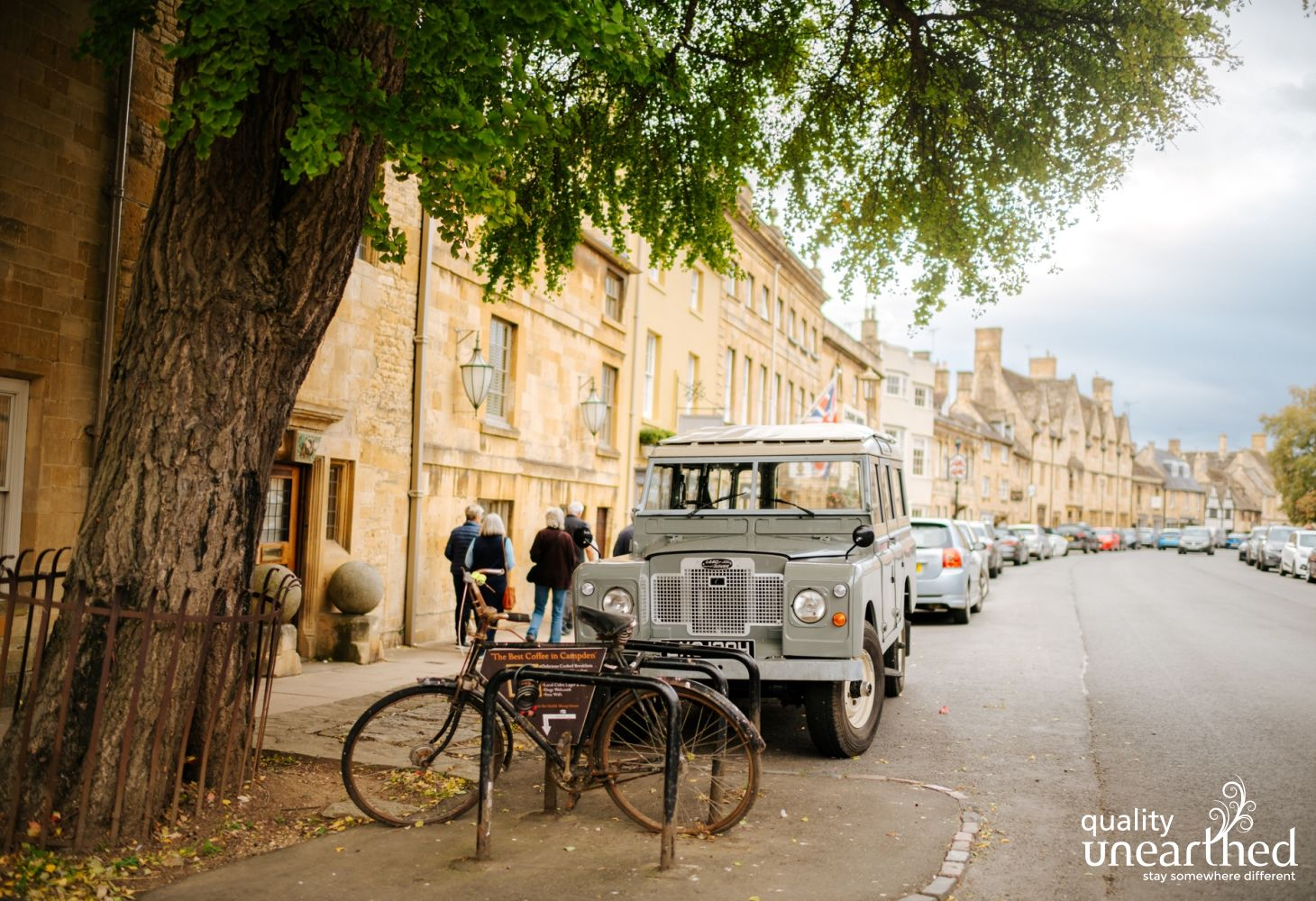 This is Chipping Camden. A quintessential Cotswold town near the treehouse