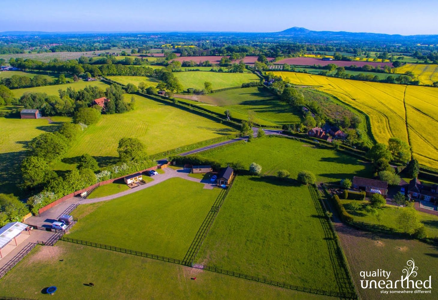 Hilltop View (Ockeridge Rural Retreats) in Worcestershire