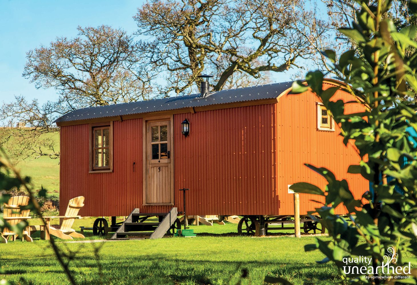 Truffle Shepherds Hut in Surrey