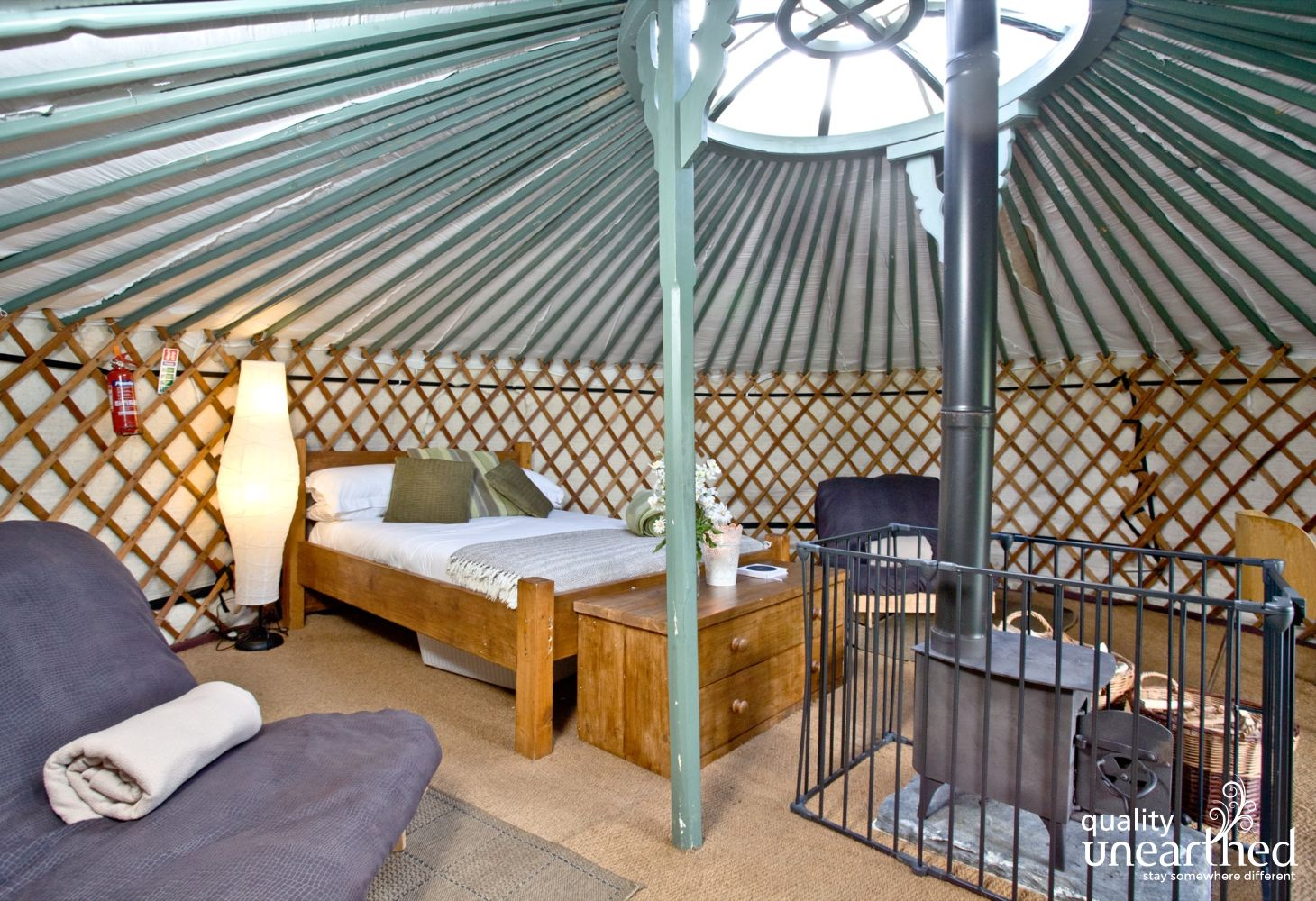 Retreat Yurt 1 in Cornwall