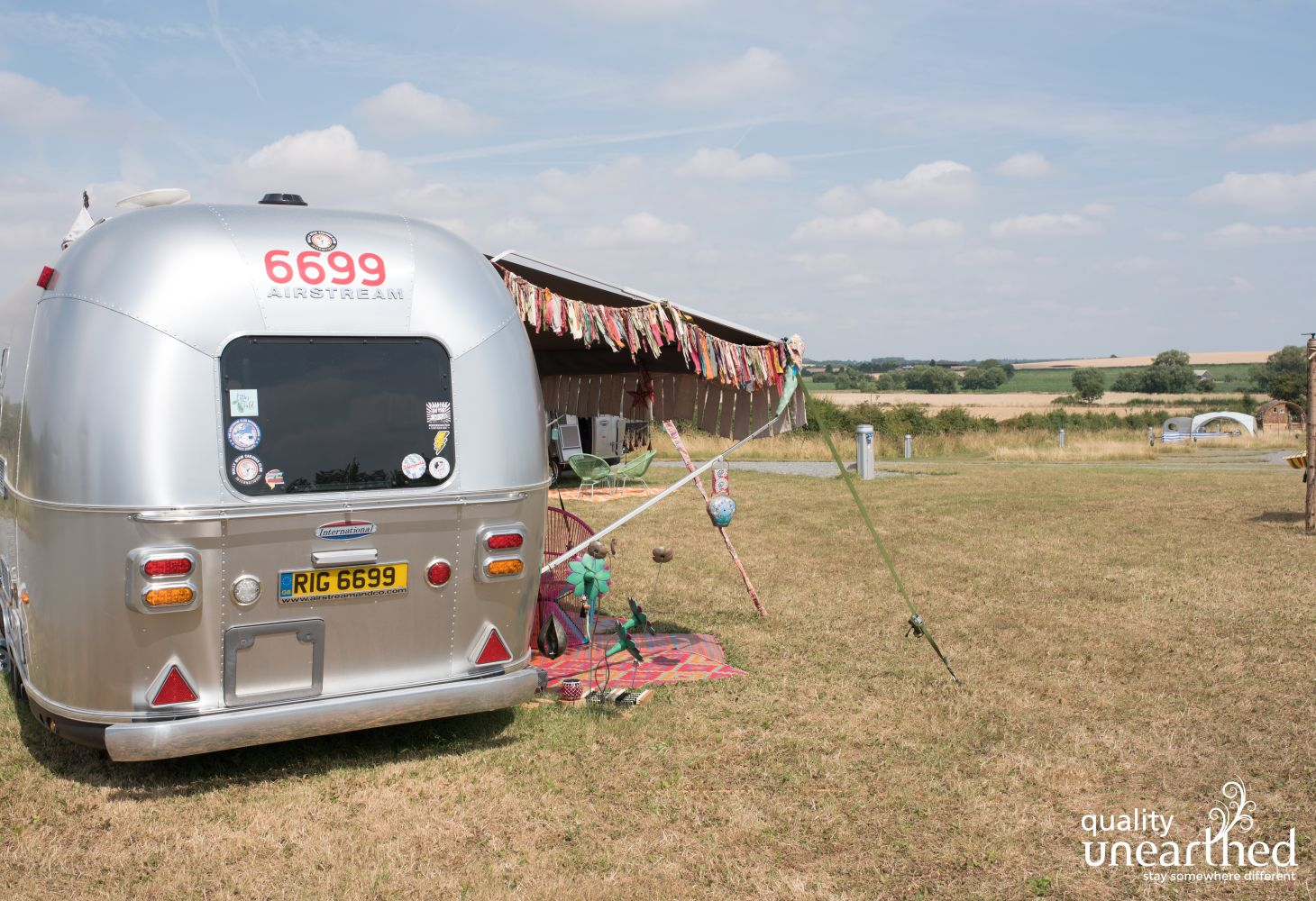 Ettie's Airstream in Warwickshire