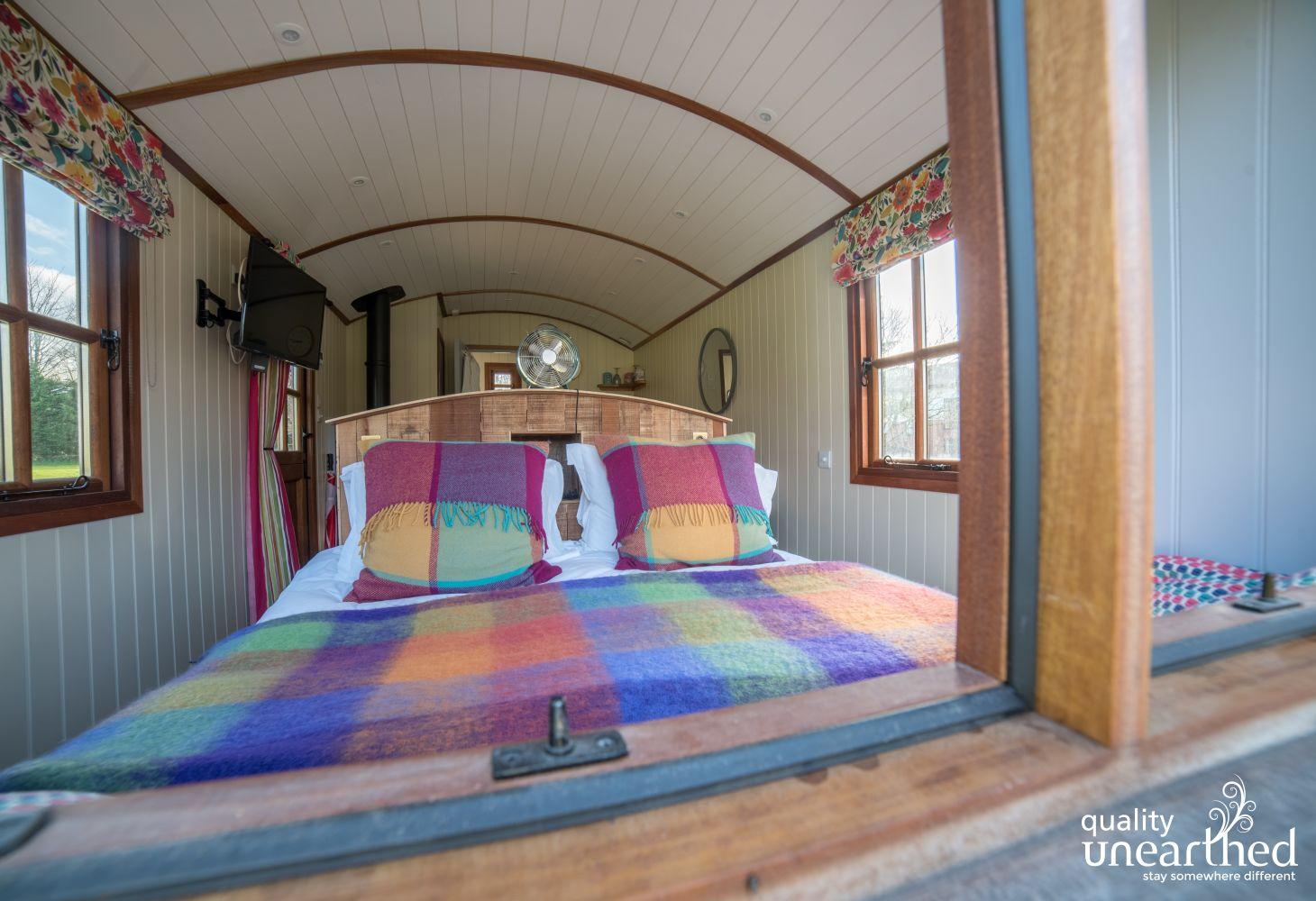 Parkway Shepherd's Hut in Monmouthshire