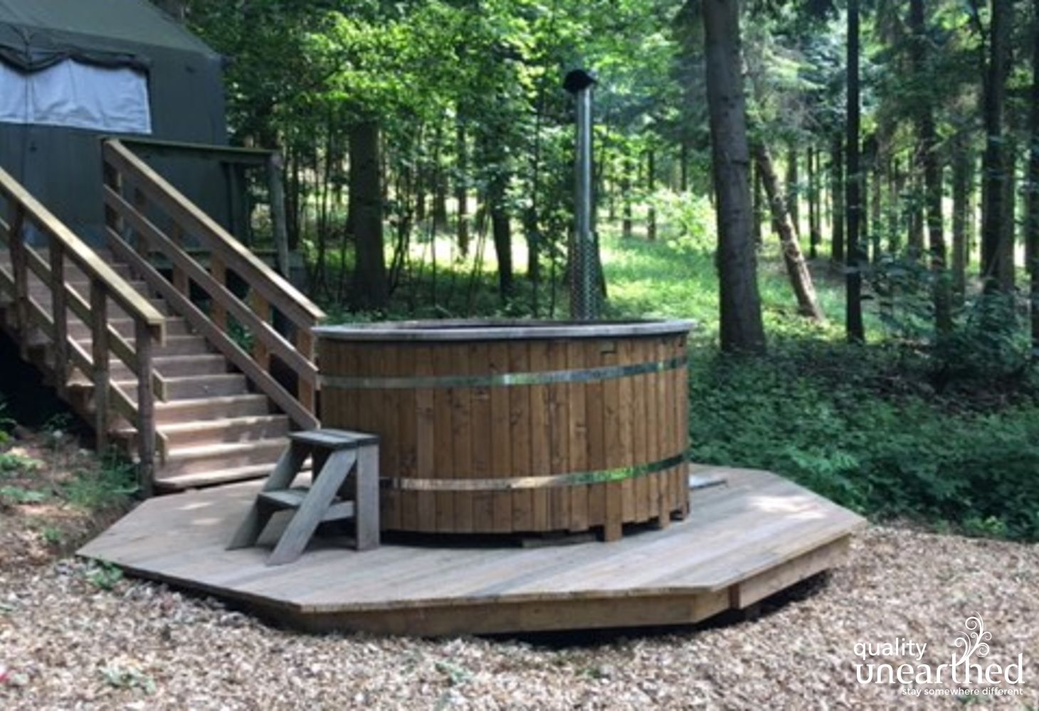 Officers Hideaway Hot Tub 2