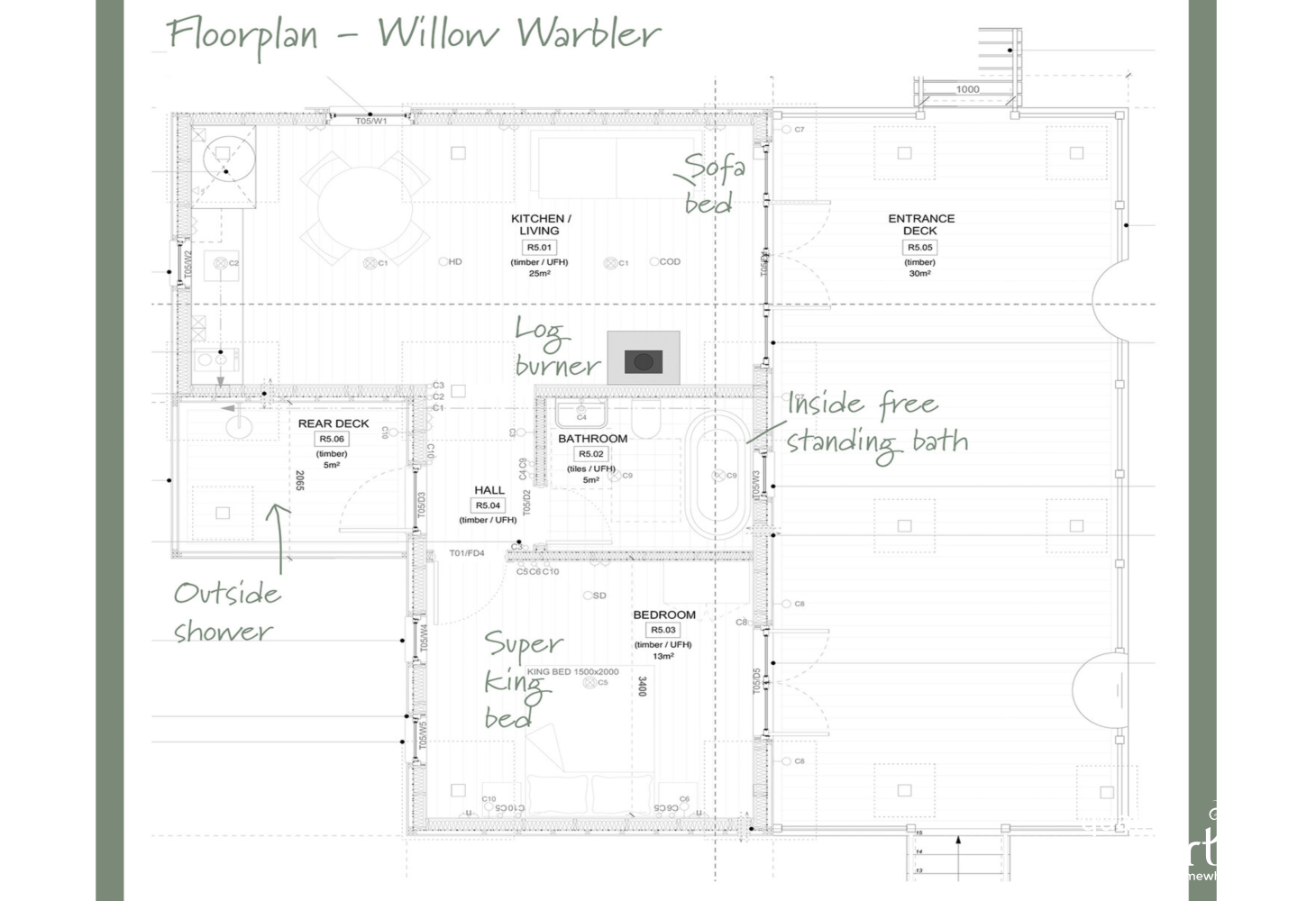 Floorplan Willow Warbler