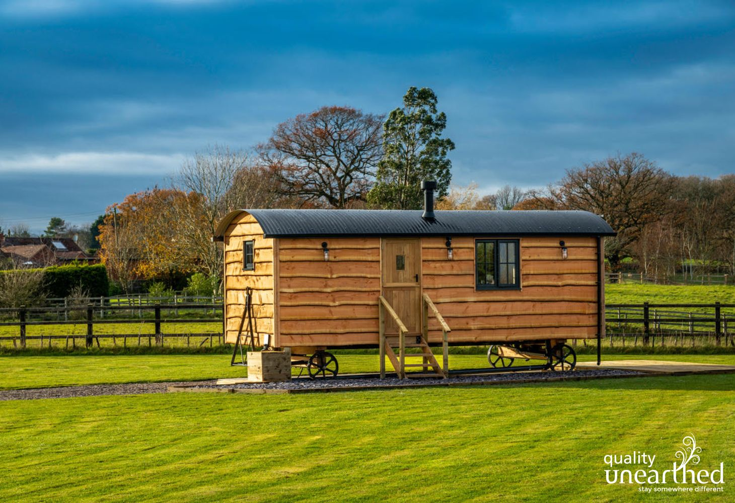 Monkwood Shepherds Hut in Worcestershire