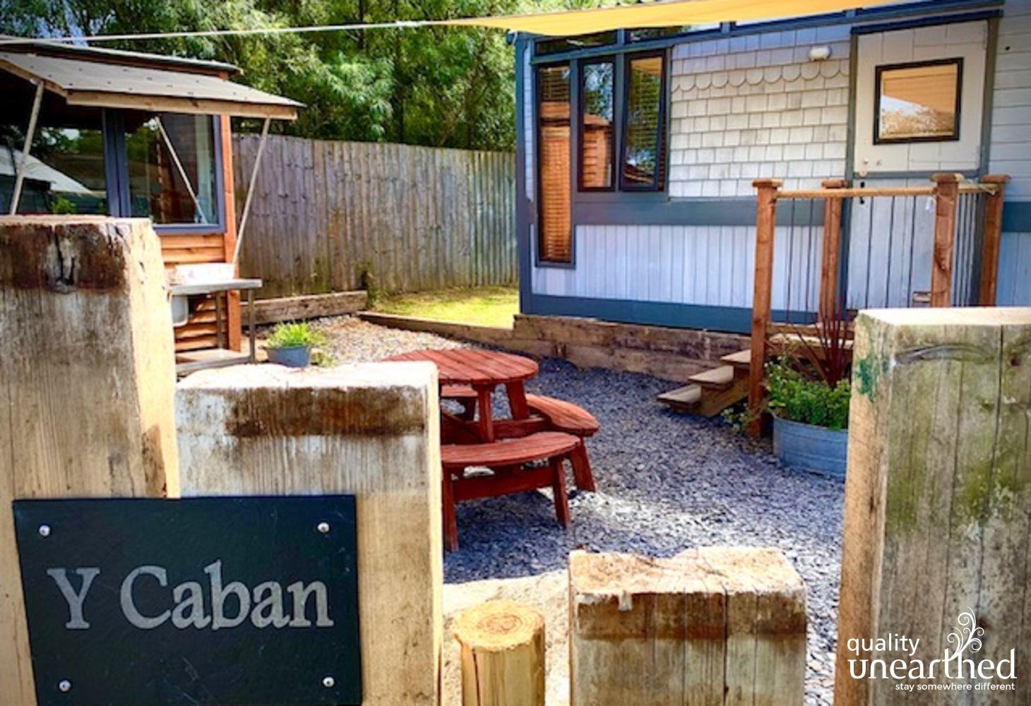 Cabin near Fishguard, Pembrokeshire