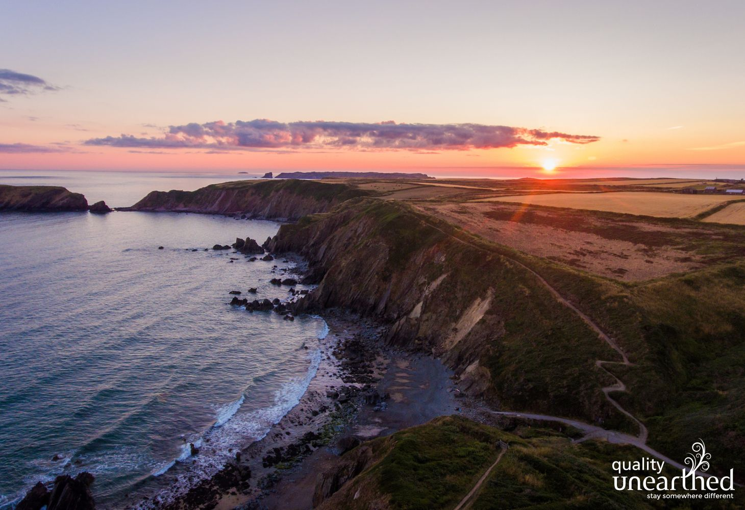 WCP MARLOES SUNSET WIDE COASTAL PATH