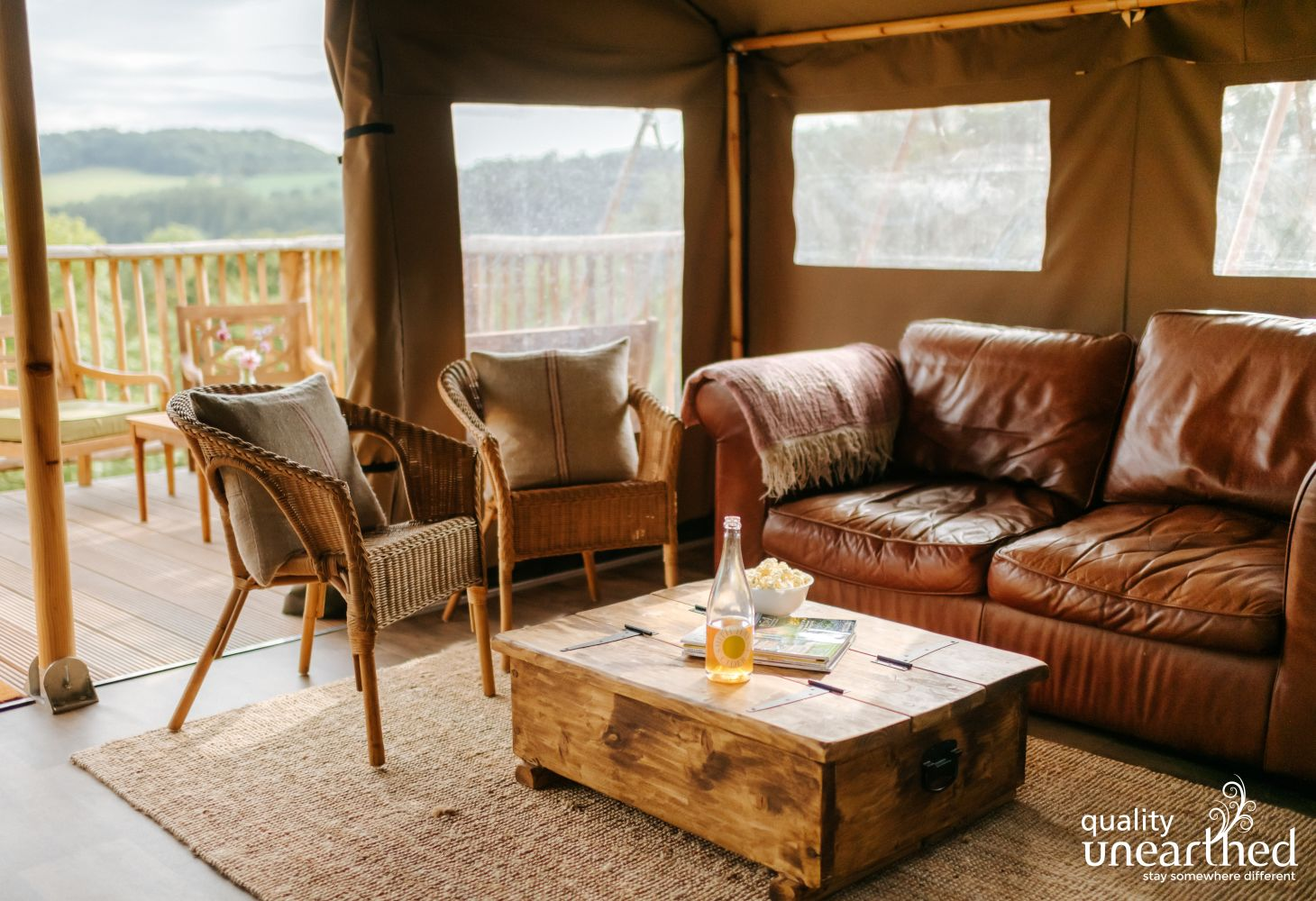 River Exe Glamping in Tiverton