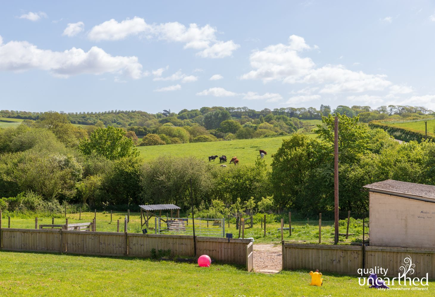 Family Yurts - The Enchanted Wood in Isle of Wight