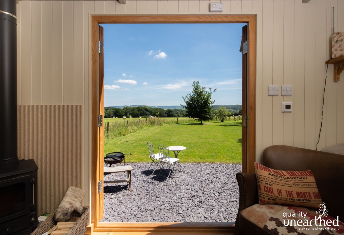 Castle View Hideaway in Monmouthshire