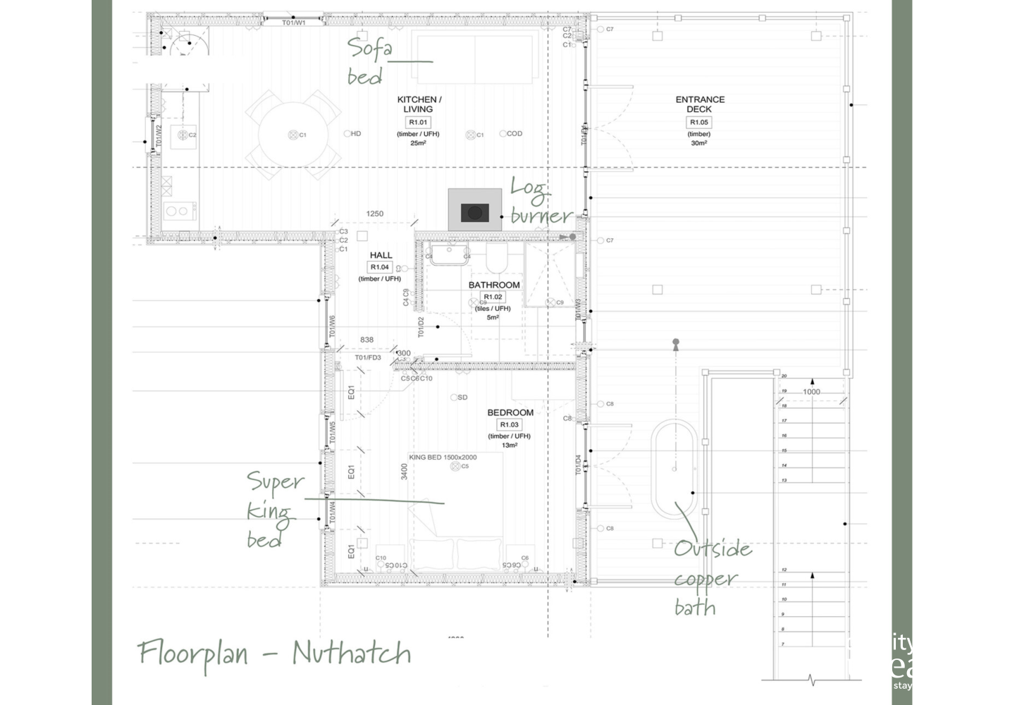Floorplan Nuthatch