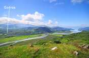 Mawddach estuary, a short drive away