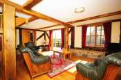 Lounge in Mid Wales holiday cottage