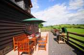 Patio with garden furniture Mid Wales