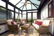 North Pembrokeshire coastal cottage for rent - conservatory