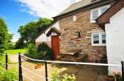 Holiday cottage on Offa's Dyke - exterior