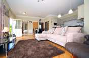 Holiday cottage near Powis Castle - lounge
