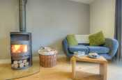 Ramsey Island nearby cottage holiday - open plan lounge