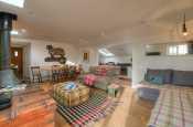 Barafundle cottage holiday - lounge