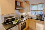 Gower dog friendly cottage holiday-kitchen