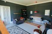 Hay On Wye holiday Farmhouse sleeps 8 - lounge