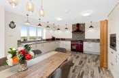 Large contemporary Kitchen diner full equipped