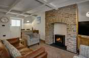 Cosy Living Room in Solva Holiday Cottage