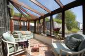 Holiday cottage on the 'Secret Waterway' - conservatory