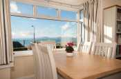 Harlech holiday cottage  -  dining