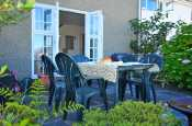 Porthmadog self catering cottage - patio
