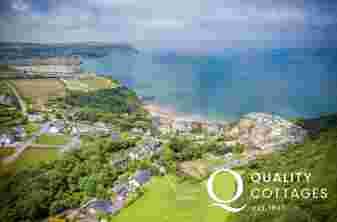 Tresaith beach period holiday home