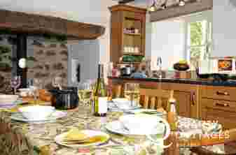Pet friendly Criccieth cottage -  kitchen
