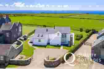 Carreg Wen holiday cottage location